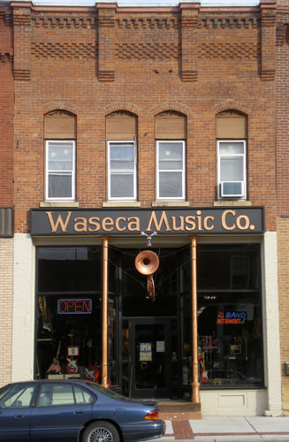 Waseca Music Storefront